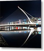 Samuel Beckett Bridge 3 V2 Metal Print