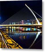 Samuel Beckett Bridge 5 Metal Print