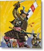 Samurai Warriors Metal Print