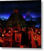 San Angel Inn Mexico Metal Print