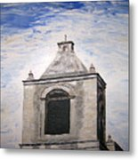 San Antonio Belltower Metal Print