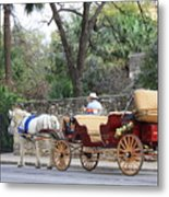San Antonio Carriage Metal Print