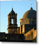 San Antonio Mission Metal Print