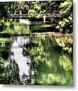 San Antonio River Scenic Metal Print