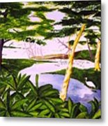 San Blas Jungle Metal Print