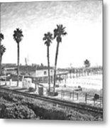 San Clemente Pier California Metal Print