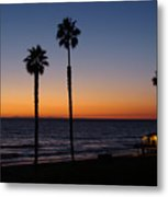San Clemente Sunset Metal Print