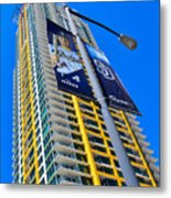 San Diego Apartment Tower Metal Print