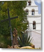 San Diego Mission Bells Metal Print