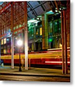 San Diego Trolley Station Metal Print