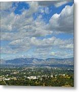 San Fernando Valley Panorama Metal Print