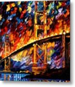 San Francisco - Golden Gate Metal Print