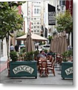 San Francisco - Maiden Lane - Outdoor Lunch At Mocca Cafe - 5d17932 Metal Print
