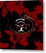 San Francisco 49ers 1b Metal Print