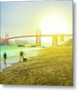 San Francisco Baker Beach Metal Print