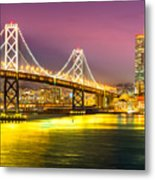 San Francisco - Bay Bridge Metal Print