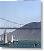 San Francisco Bay Metal Print