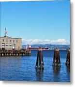 San Francisco Bay Trail View Metal Print