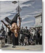San Francisco Breakdancer Metal Print