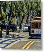 San Francisco, Cable Cars -1 Metal Print