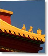 San Francisco California China Town Metal Print