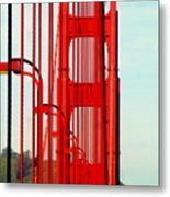 San Francisco Golden Gate Bridge Symphony In California Metal Print