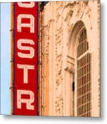 San Francisco Castro Theater Metal Print by Wingsdomain Art and Photography