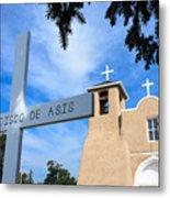 San Francisco De Asis Church Metal Print