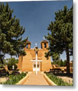 San Francisco De Assisi Mission Church Taos New Mexico 2 Metal Print