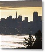 San Francisco - From Tamalpais East Metal Print