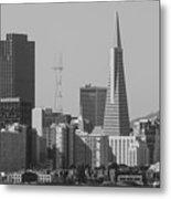 San Francisco From Treasure Island Metal Print
