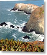 Marin Headlands Bunker Metal Print