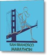 San Francisco Marathon2 Metal Print
