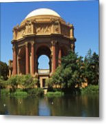 San Francisco - Palace Of Fine Arts Metal Print