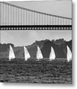 San Francisco Seascape Metal Print