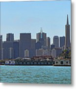 San Francisco Skyline -1 Metal Print
