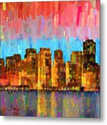 San Francisco Skyline 11 - Pa Metal Print
