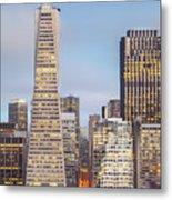 San Francisco Skyline 2 Metal Print