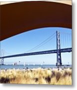 San Francisco Sunday Strollers  Metal Print