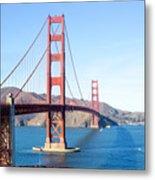 San Francisco's Golden Gate Bridge Metal Print
