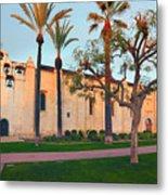 San Gabriel Mission California Metal Print