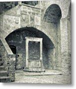 San Gimignano - Medieval Well  Metal Print