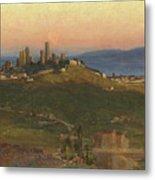 San Gimignano, 1898 Metal Print