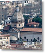 San Gioacchino In Prati Metal Print by Andy Smy