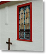 San Iglesia Church Window Metal Print