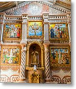 San Javier Church Altar Metal Print