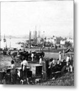 San Juan Harbor - Puerto Rico - C 1900 Metal Print