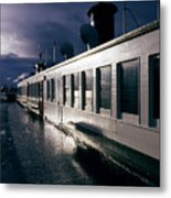 San Juan Islands Ferry Metal Print