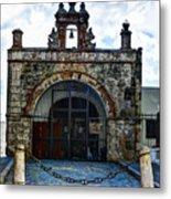 San Juan Mission Church Metal Print