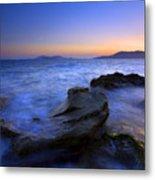 San Juan Sunset Metal Print by Mike  Dawson